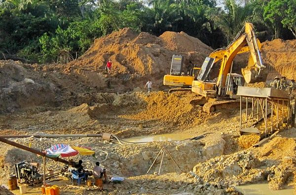 Ban all earth-moving equipment from surface mining - Nana Akomea proposes