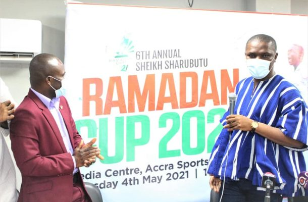 Hon. Ussif launches the 2021 Chief Imam Ramadan Cup