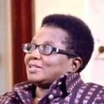 Elizabeth Ohene: The woman bucking the trend in Ghana to embrace her grey hair