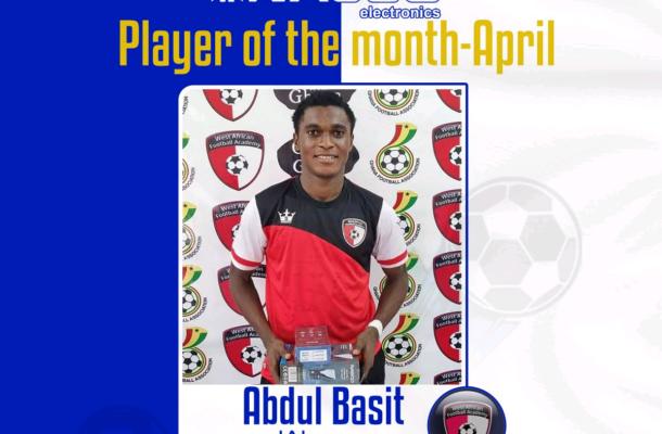 Coach Yusif Basigi wins NASCO coach of the month of April