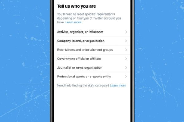 Twitter gradually rolls out a new update to its verification application process
