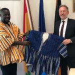 Majority Chief Whip interacts with German Ambassador to Ghana
