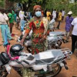 MP for Salaga donates Motor Bikes to constituency