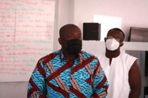PHOTOS: Information Minister visits Citi FM over alleged assault on Journalists