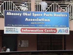 Abossey Okai Spare Parts Association gives unauthorised dealers 10 days to relocate