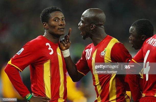 Stephen Appiah snubs Asamoah Gyan in top 5 Black Star players