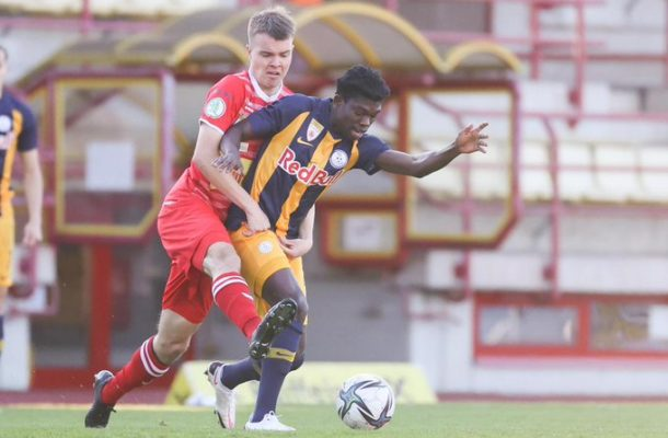 Forson Amankwah scores first goal for Liefering