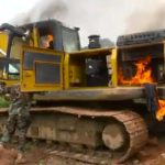 Galamsey Fight: We will burn excavators, take us to court - Minister