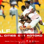 GPL: Fabio Gama's free kick pushes Legon Cities into relegation Zone