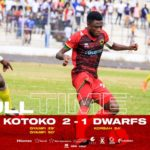 Emmanuel Gyamfi double helps Kotoko open four point lead at the top