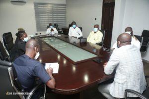 Hasaacas Ladies Executives call on GFA President