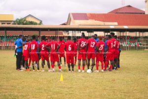 PHOTOS: Hearts train ahead of Bechem United clash