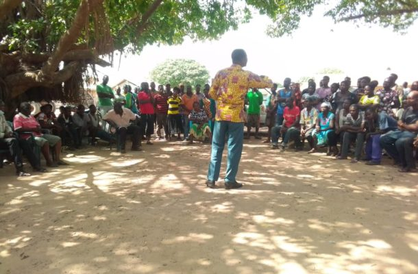 PHOTOS: Sekyere Central NCCE engages the public during constitution week