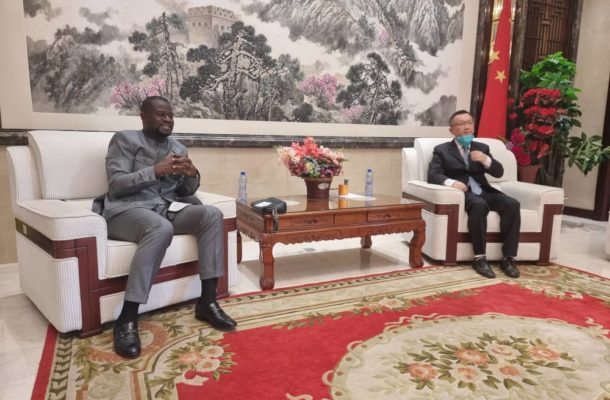 Annoh-Dompreh visits Chinese Embassy for investment opportunities