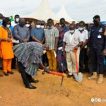 Gov't cuts sod for construction of new market at Akyem Oda
