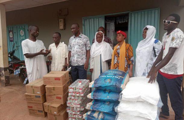 'Benevolent' Dagbon Union UK (DUUK) donates food items to Blind Muslims Association