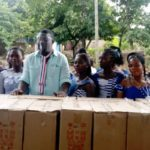 Annoh-Dompreh donates sewing machines to 100 dressmakers at Nsawam