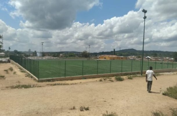 Astro Turf to produce more Essiens, Bentils and Oduros nears completion in Bawjiase
