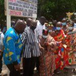 VP Bawumia cuts sod construction of 11km cocoa road in Nsawam-Adoagyiri