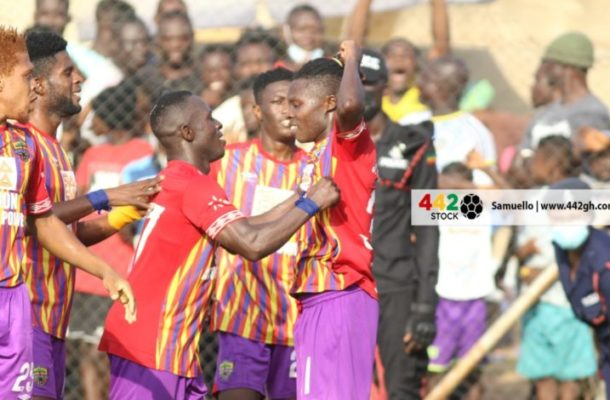 Ibrahim Salifiu scores debut Hearts Of Oak goal in Bechem victory