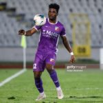 Ibrahim Tanko scores for FK Javor in Serbia