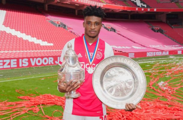 Kudus Mohammed revels in Ajax title triumph
