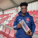 Kudus Mohammed named best U-21 player for May in Eredivisie