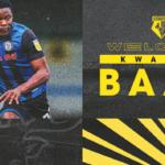 It's a dream to play in the Premier League - Watford new boy Kwadwo Baah