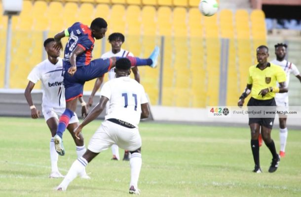 Legon Cities strike late to deny Liberty Professionals a point