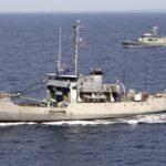 Ghana's Naval team hunts for pirates