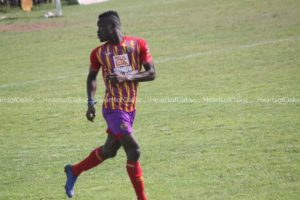 VIDEO: Watch Kwadwo Obeng Jnr's goal for Hearts against Eleven Wonders