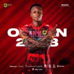 OFFICIAL: Kotoko confirm striker Osman Ibrahim's contract extension