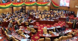 VIDEO: Ghanaian MP's spotted praying in tongues against LGBTI+