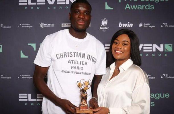 Paul Onuachu: Nigeria striker scoops two awards in Belgium