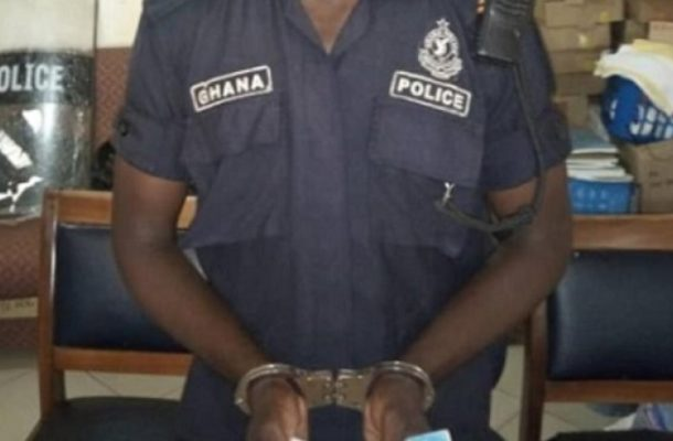 Policeman grabbed over GH¢100,000 recruitment scam