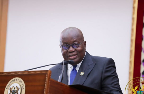 I'm satisfied with government's anti-corruption fight – Akufo-Addo
