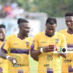 Medeama's Prince Opoku Agyemang's text message goal celebration explained
