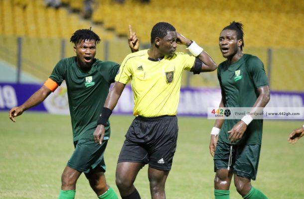 Hearts vs Elmina Sharks referee admits he erred ask for forgiveness