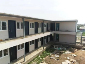 PHOTOS: Hearts of Oak's Pobiman Academy project close to completion