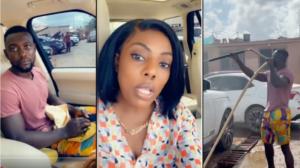 VIDEO: Nana Aba Anamoah helps Legon graduate who washes cars secure a job