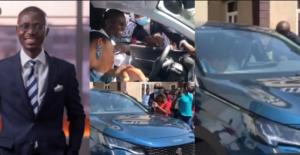 VIDEO: Citi FM gifts Bernard Avle brand new car on his 40th birthday