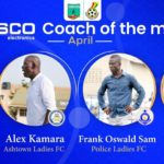 Four coaches battle for WPL coach of the month April award