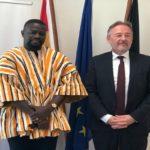 Nsawam MP pays courtesy call on German Ambassador to Ghana