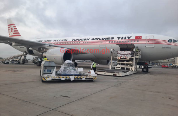 Ghana: 350,000 COVID-19 second doses arrived in Accra