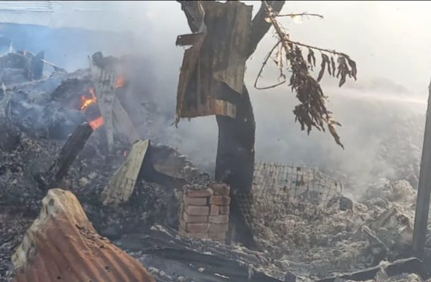 A/R: Fire burns 17-year-old boy to death