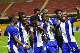 Great Olympics whack WAFA at Sogokope in 5 goals thriller