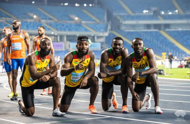 VIDEO: We're not asking for $25million just give us support - 4x100 men's relay team