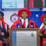 UEW honours Matthew Opoku Prempeh with Doctorate Degree over Free SHS