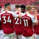 Thomas Partey helps Arsenal finish on a high with Brighton win