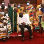Okyenhene supports Akufo-Addo's fight against galamsey